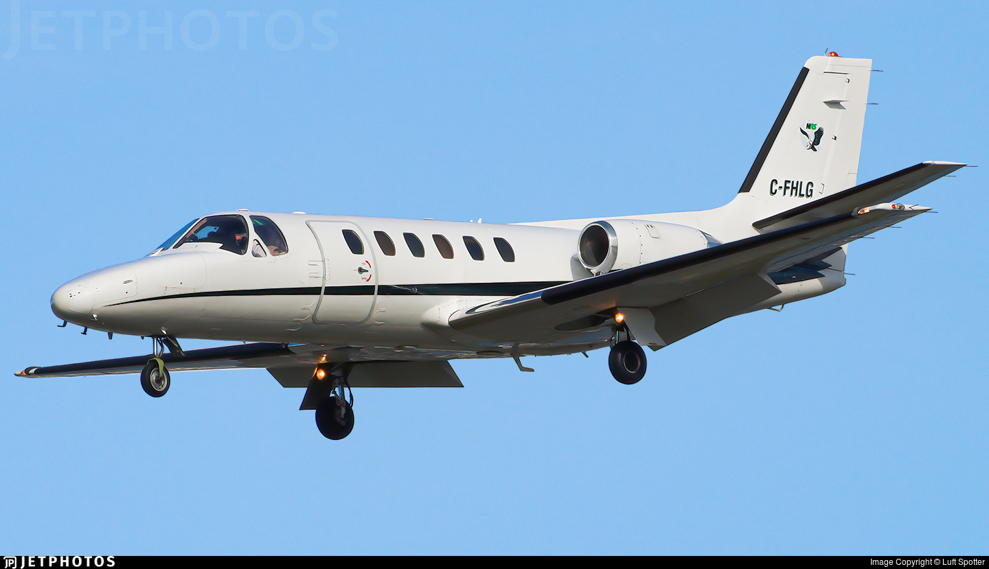 C-FHLG - Cessna 550 Citation II - Northern Air Solutions
