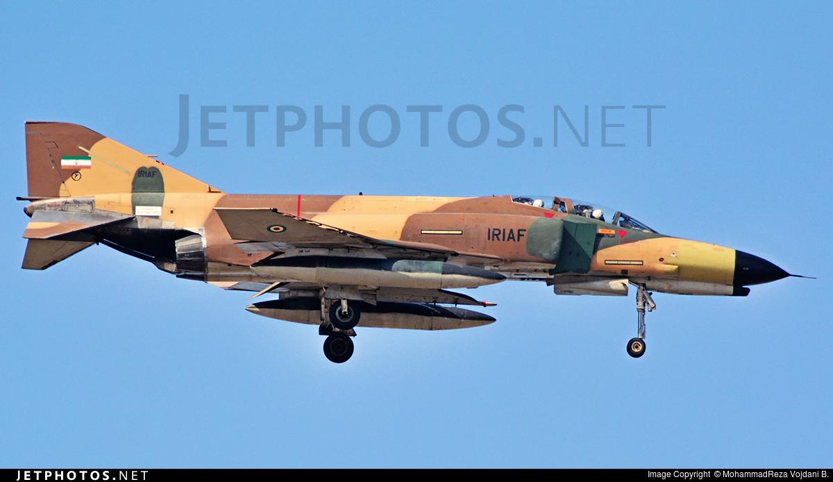 3-692 - McDonnell Douglas F-4E Phantom II - Iran - Air Force