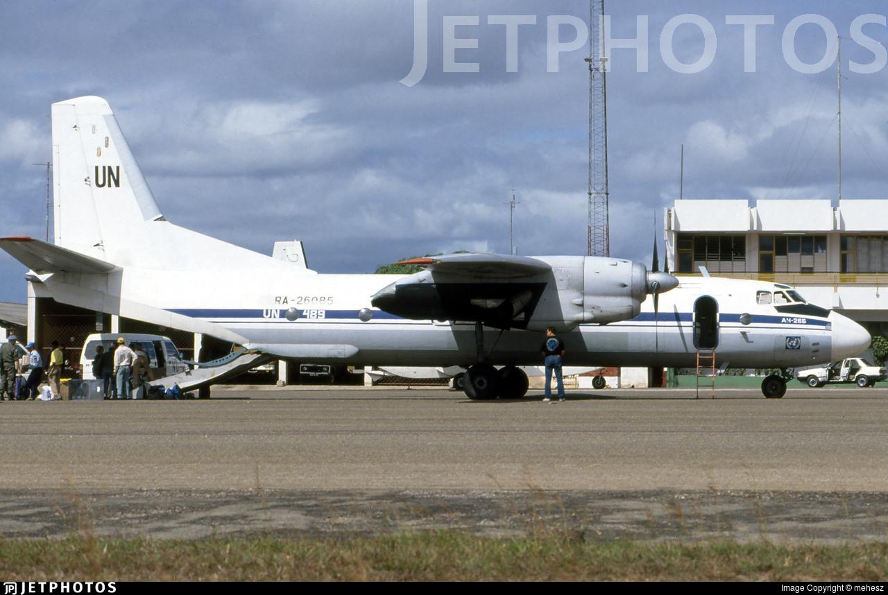 RA-26085 - Antonov An-26B - United Nations (UN)
