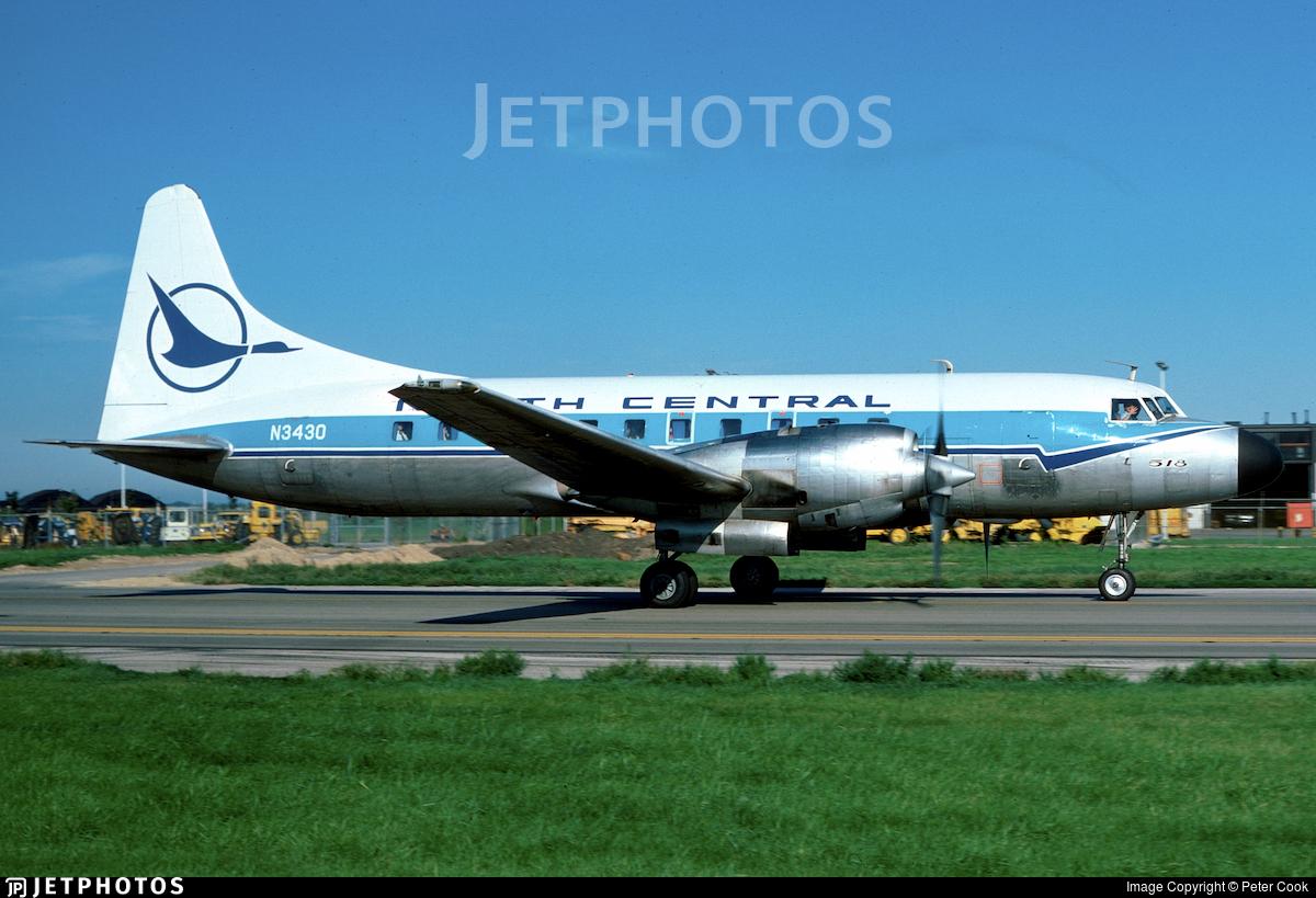 N3430 - Convair CV-580 - North Central Airlines