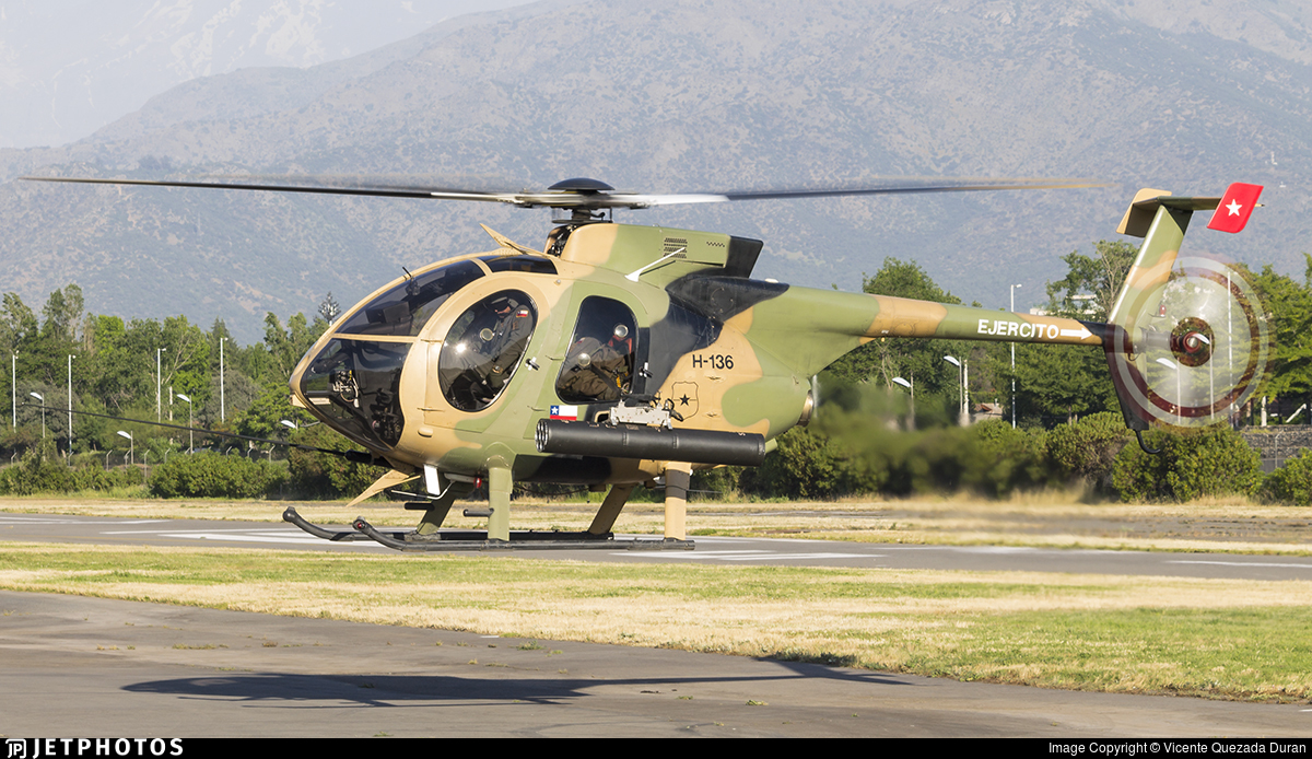 H-136 - McDonnell Douglas MD-530FF - Chile - Army