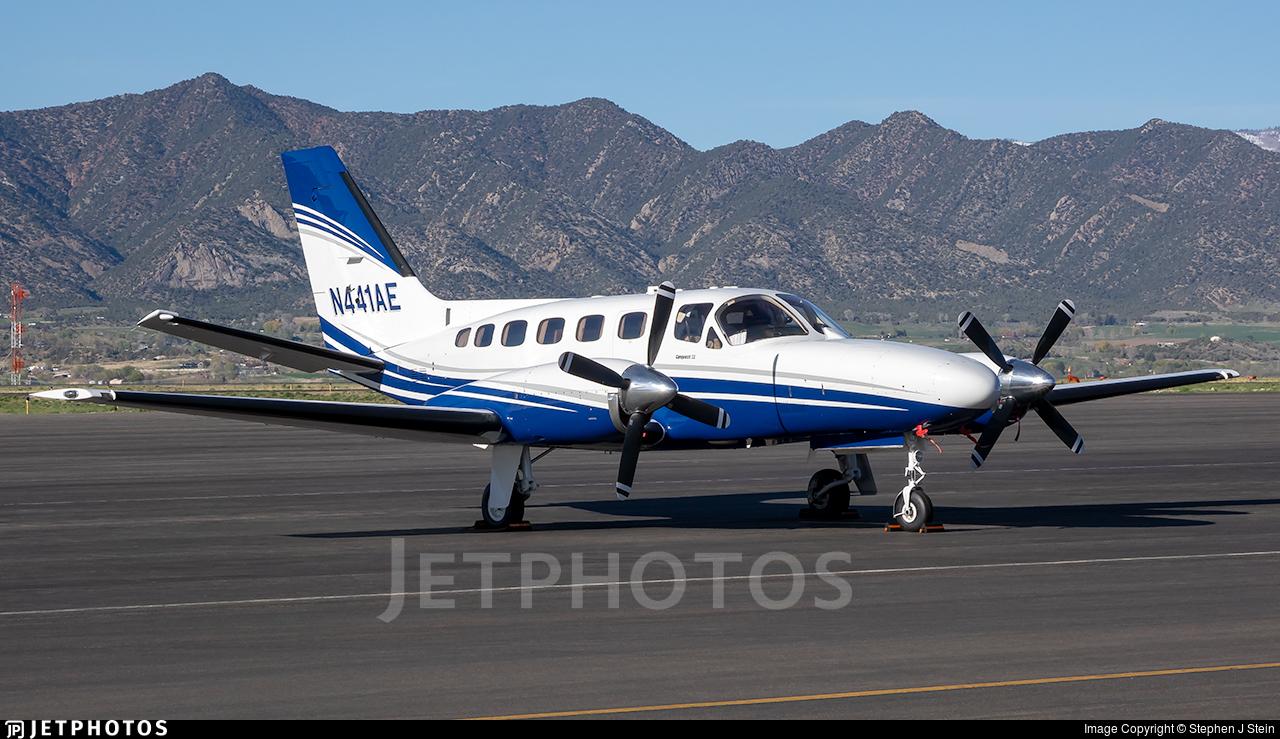 N441AE - Cessna 441 Conquest - Private
