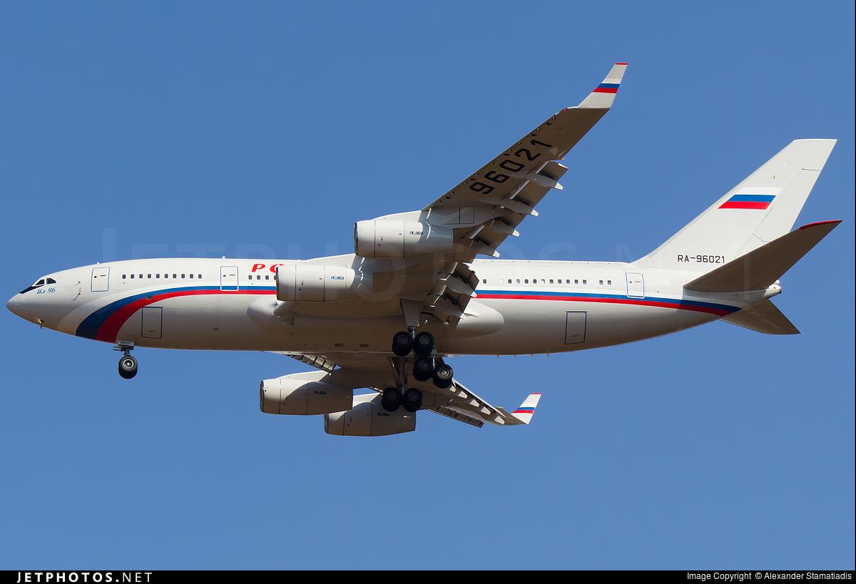 Kết quả hình ảnh cho IL-96-300PU V.Putin 96021