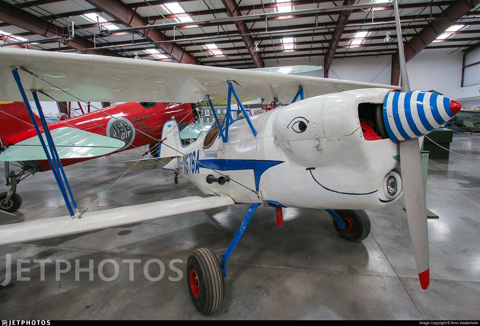N576A - Bretthauer Lewann Biplane DD-1 - Private