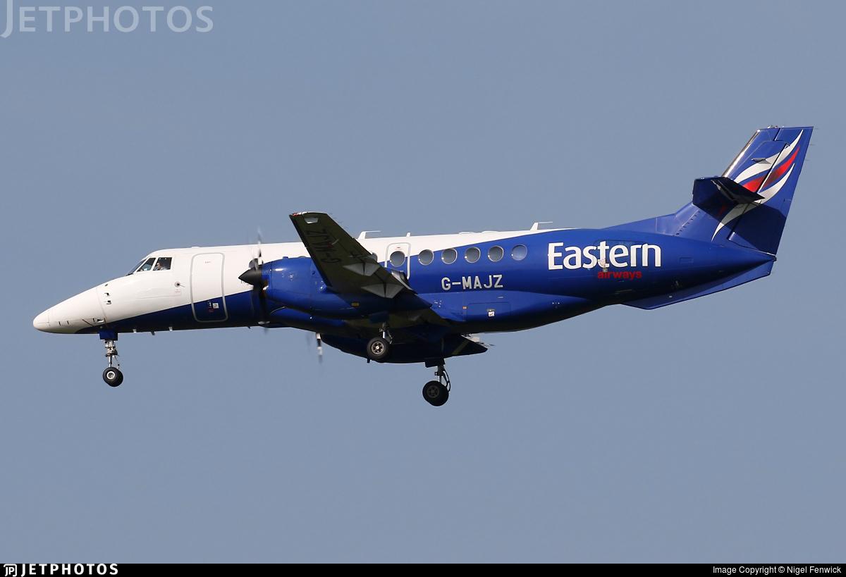 G-MAJZ - British Aerospace Jetstream 41 - Eastern Airways