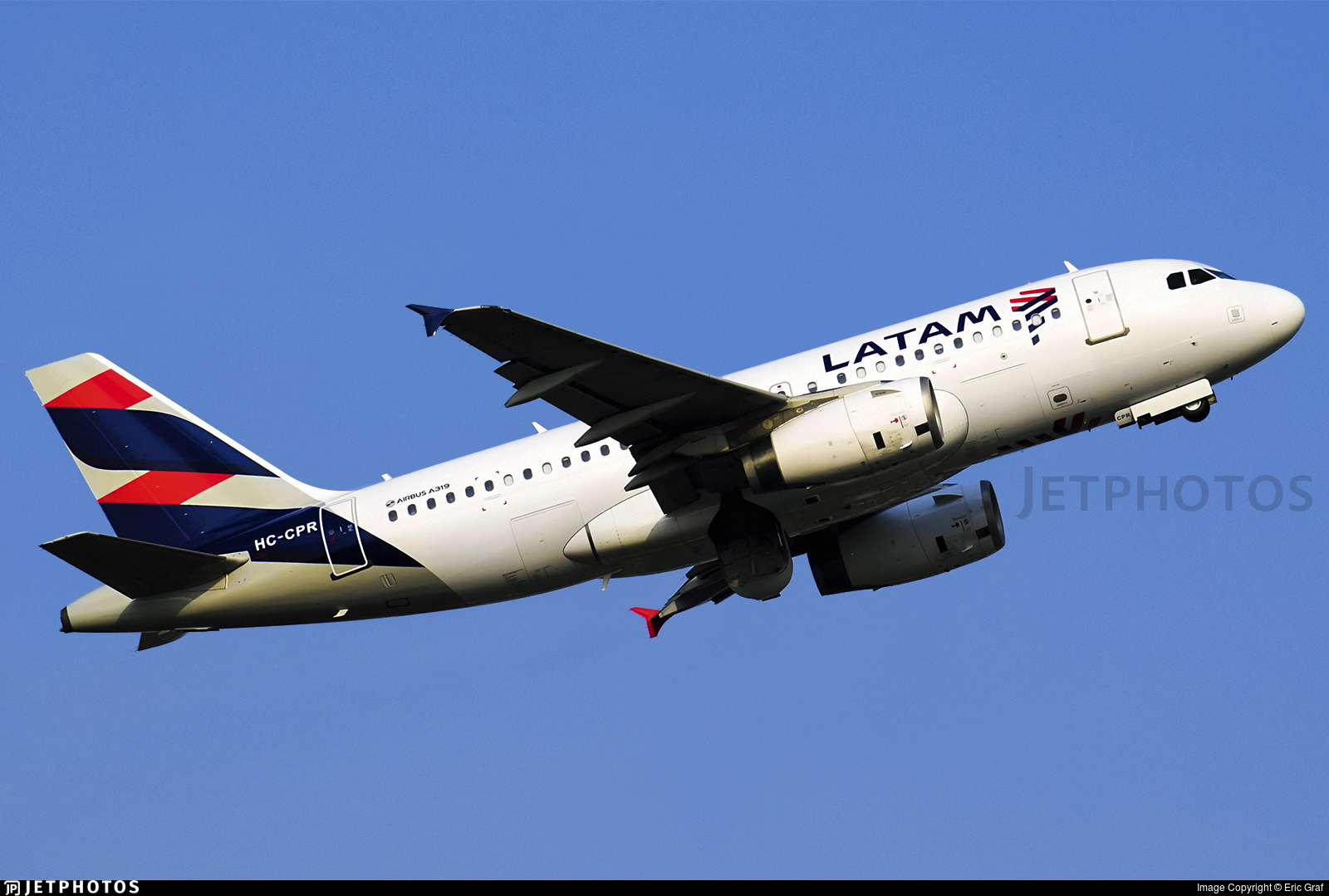 HC-CPR - Airbus A319-132 - LATAM Airlines