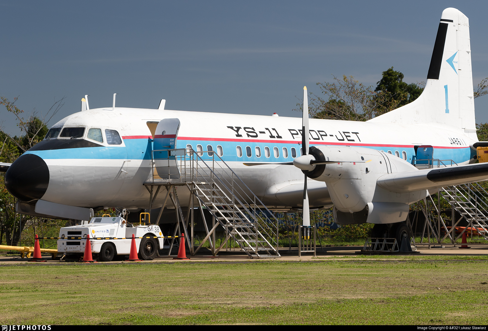 JA8611 - NAMC YS-11 - Nippon Aircraft Manufacturing Corporation (NAMC)