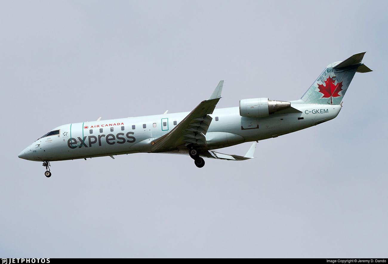 C-GKEM - Bombardier CRJ-200LR - Air Canada Express (Air Georgian)