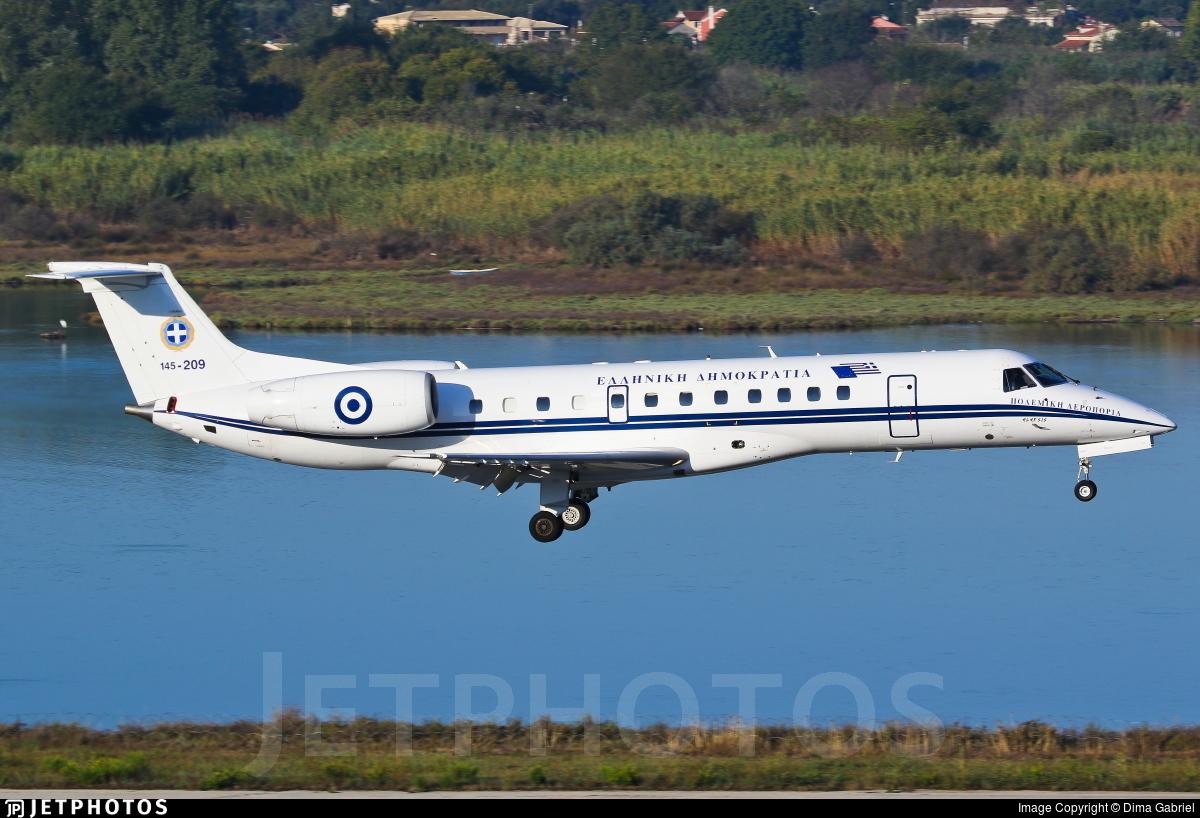 145-209 - Embraer ERJ-135LR - Greece - Air Force