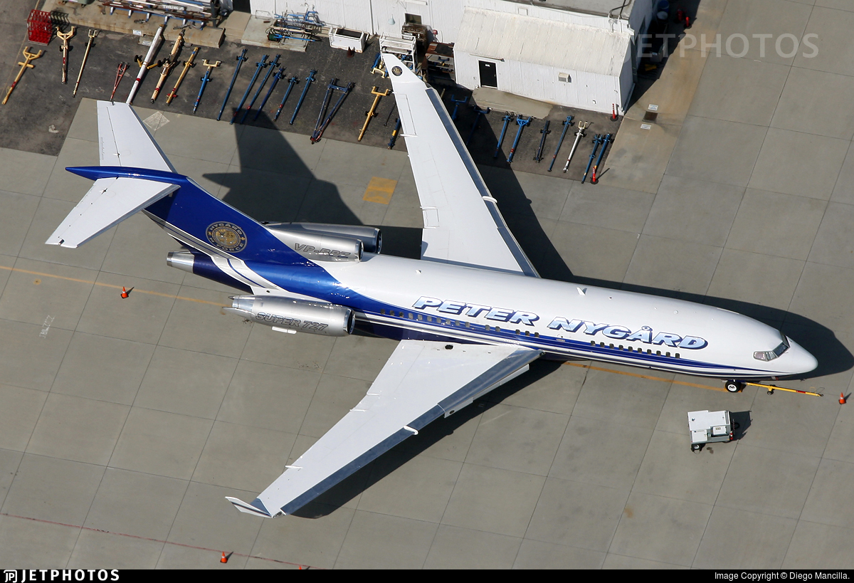 VP-BPZ - Boeing 727-17(RE) - Private