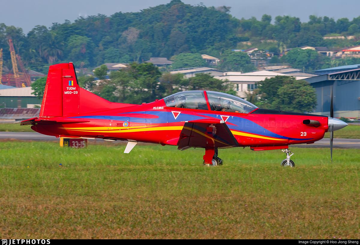 M50-23 - Pilatus PC-7 Mk.II - Malaysia - Air Force