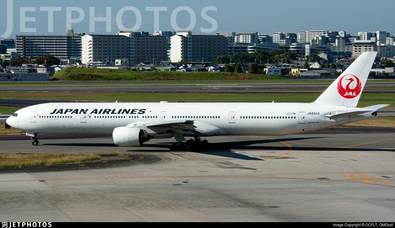 JA8944 - Boeing 777-346 - Japan Airlines (JAL)