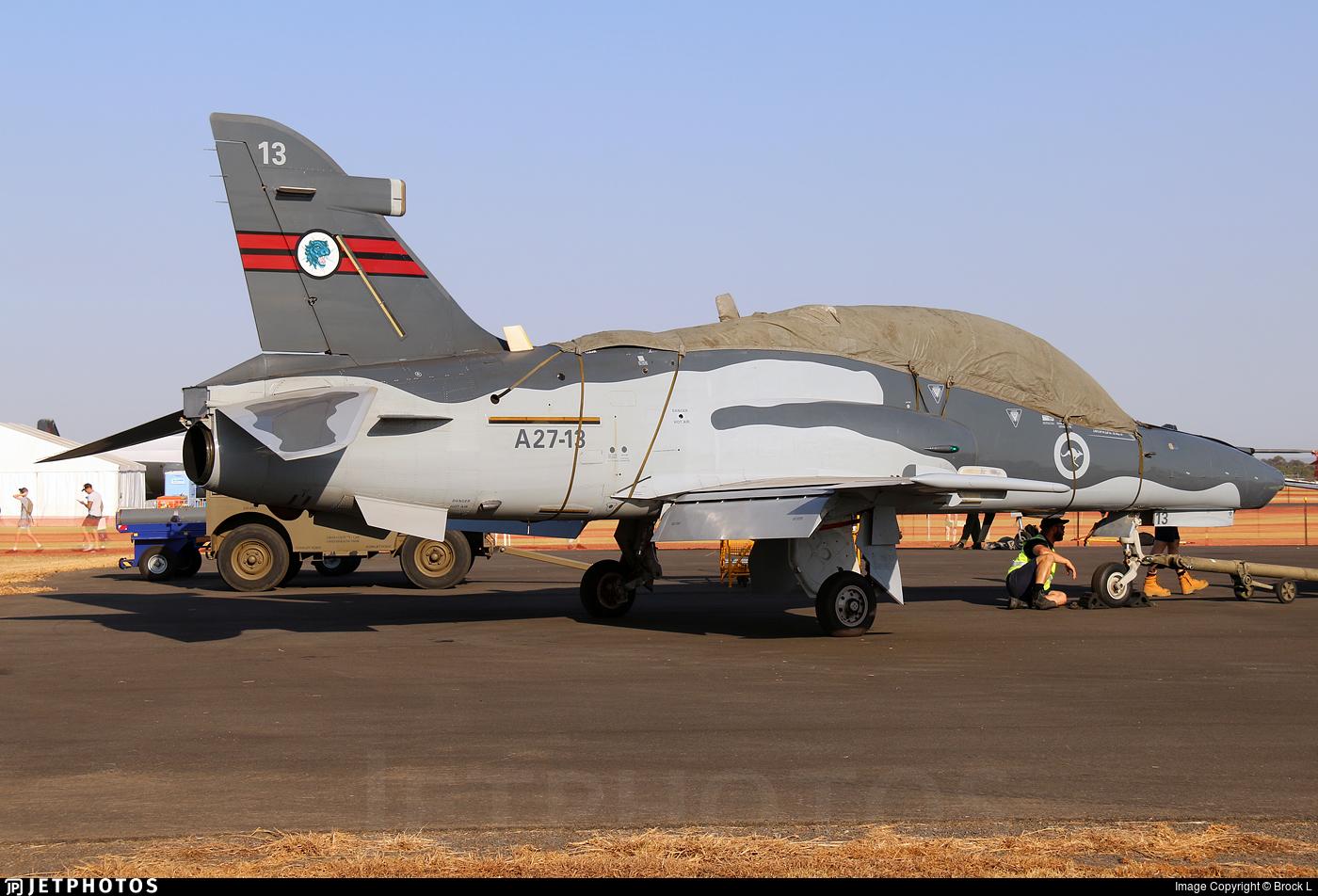A27-13 - British Aerospace Hawk Mk.127 Lead-In Fighter - Australia - Royal Australian Air Force (RAAF)