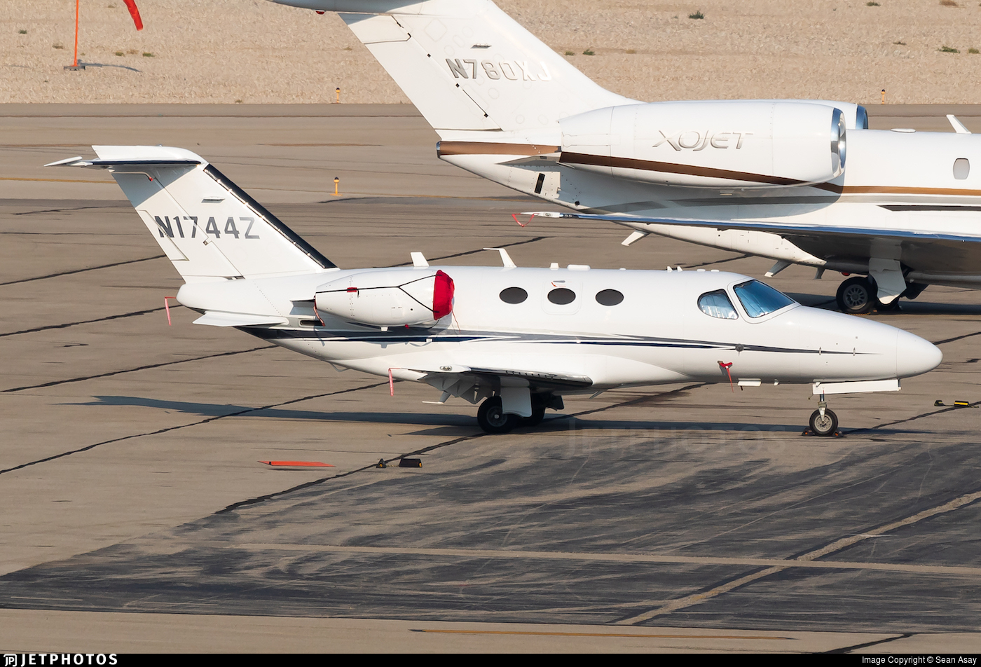 N1744Z - Cessna 510 Citation Mustang - Private
