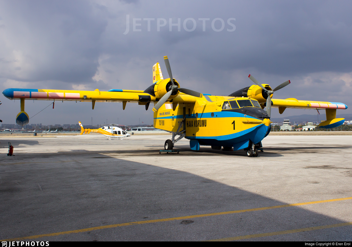 TC-TKK - Canadair CL-215 - Turkey - Turkish Aeronautical Association