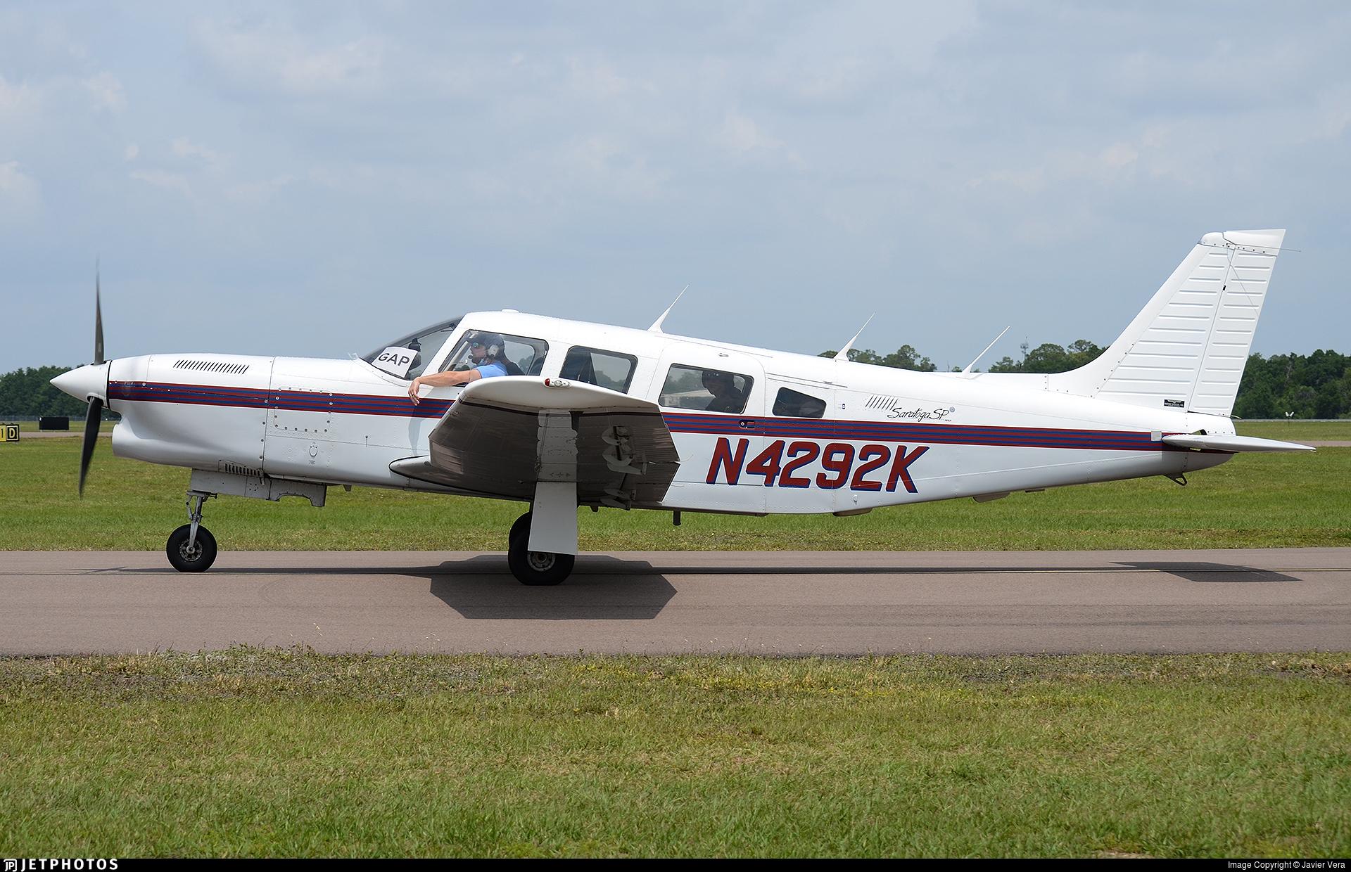 N4292K - Piper PA-32R-301 Saratoga SP - Private