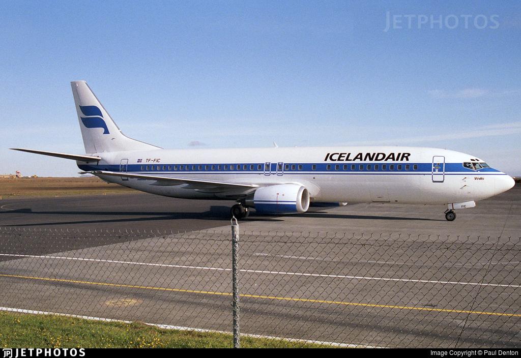TF-FIC - Boeing 737-408 - Icelandair