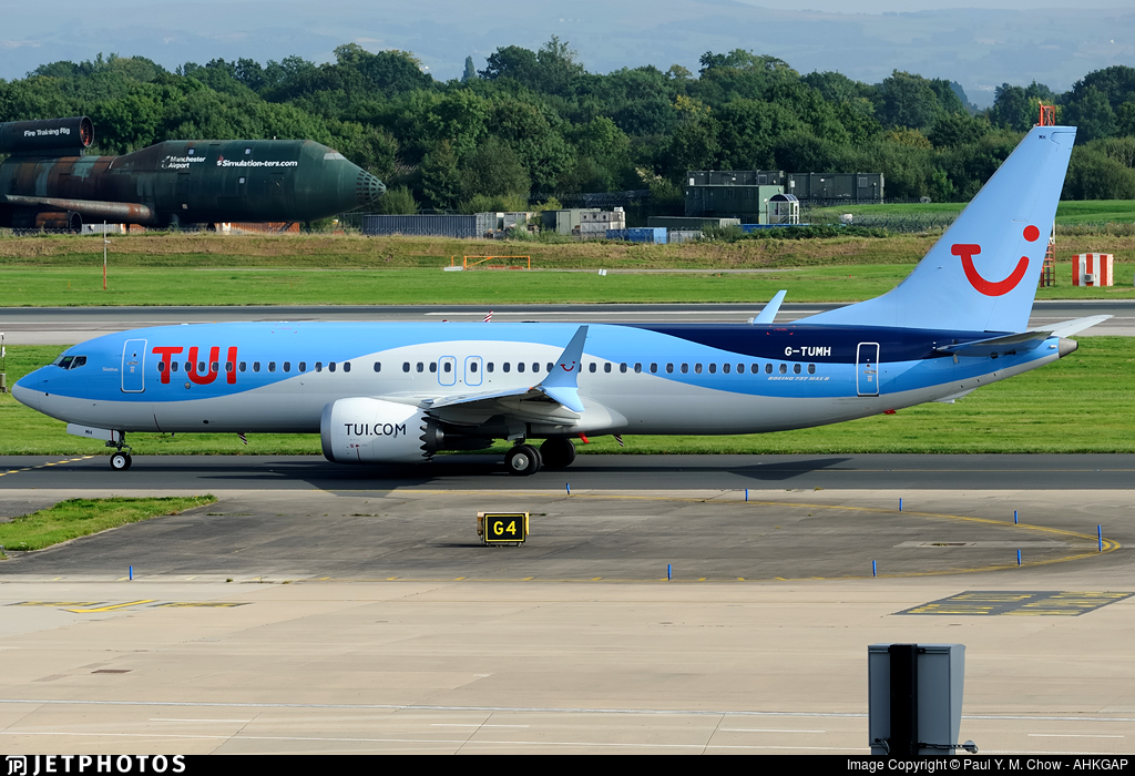 G-TUMH - Boeing 737-8 MAX - TUI