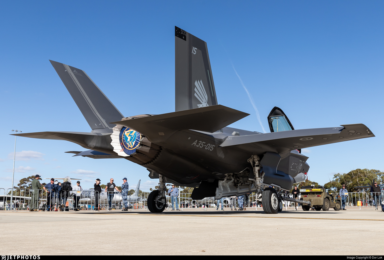A35-015 - Lockheed Martin F-35A Lightning II - Australia - Royal Australian Air Force (RAAF)