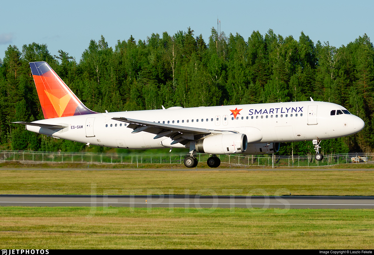 ES-SAM - Airbus A320-232 - SmartLynx Estonia