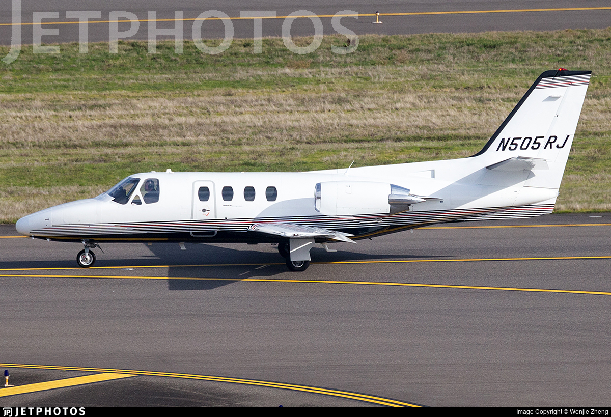 N505RJ - Cessna 501 Citation SP - Private
