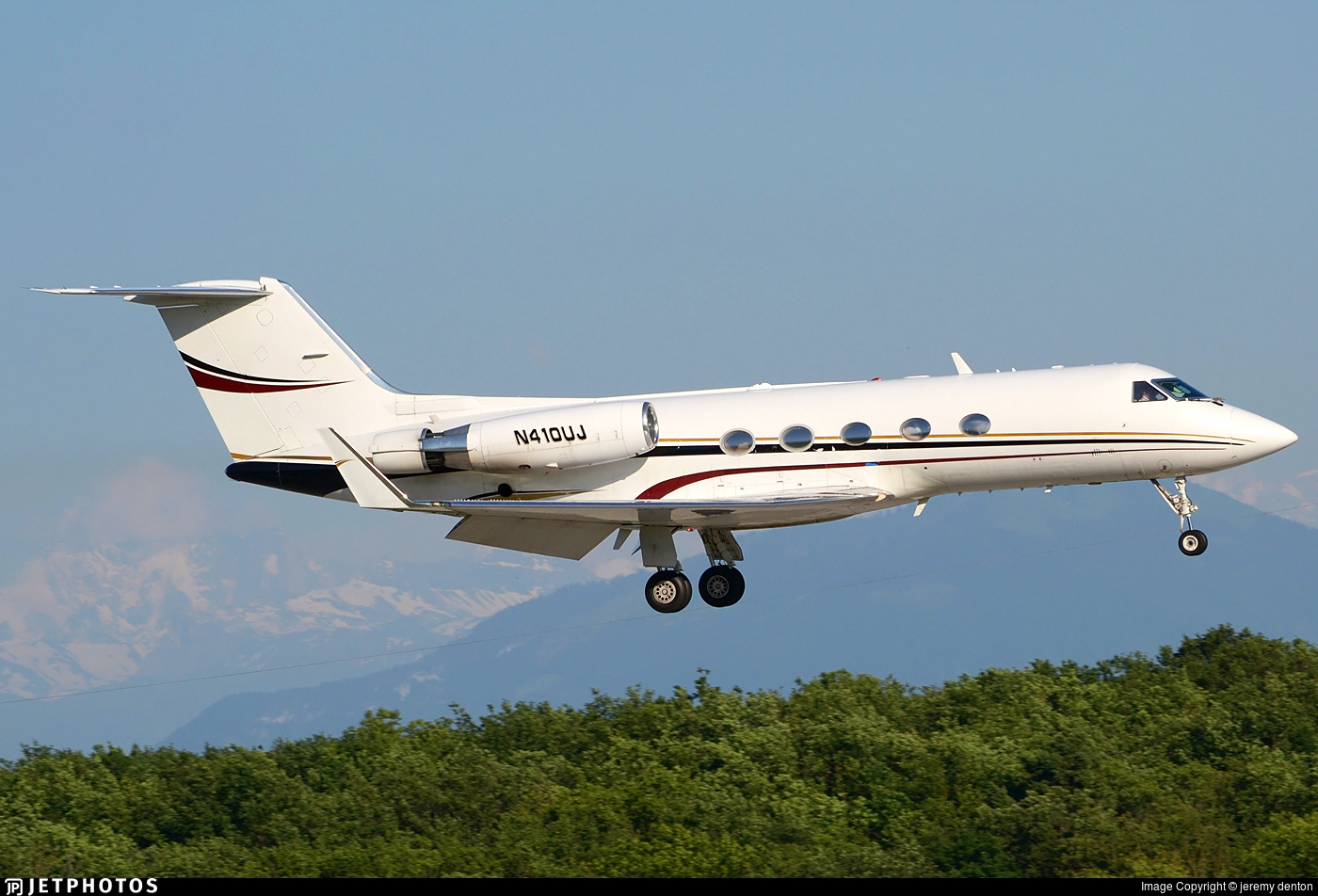 N410UJ - Gulfstream G-III - Private
