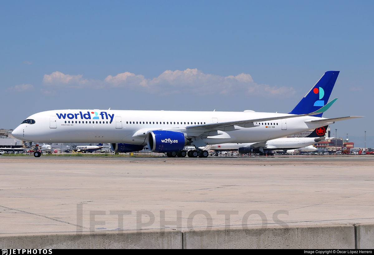 EC-NOI - Airbus A350-941 - World2Fly