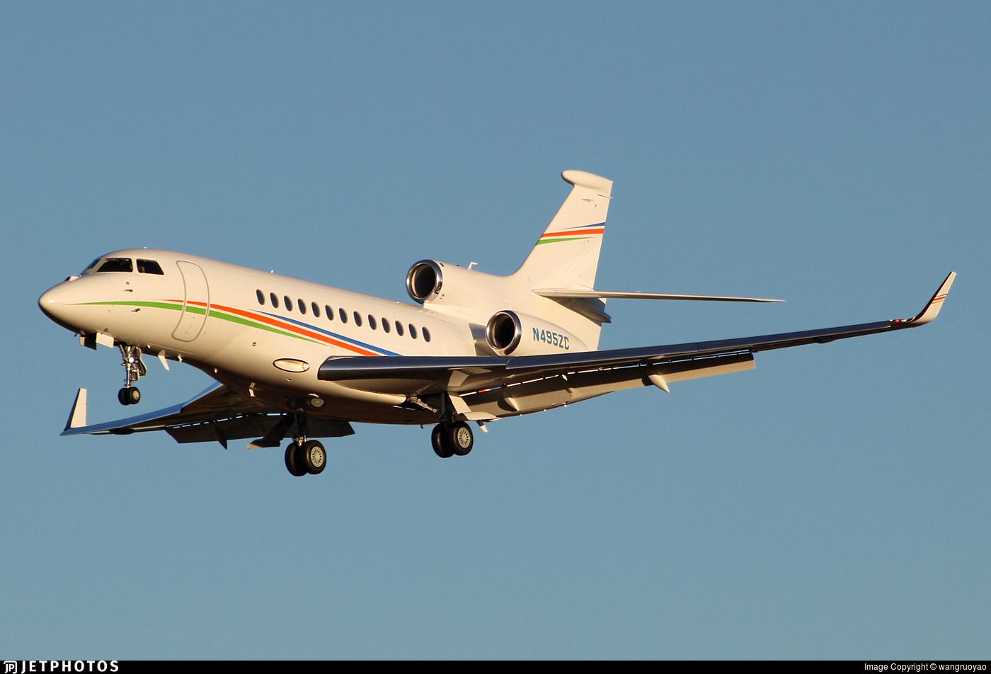 N495ZC - Dassault Falcon 7X - Private