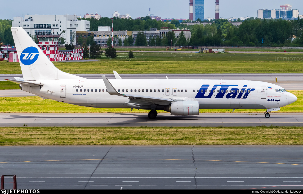 VQ-BJF - Boeing 737-8AS - UTair Aviation