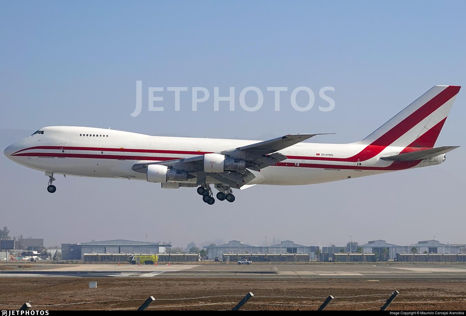 EX-47002 - Boeing 747-251B(SF) - Aerostan