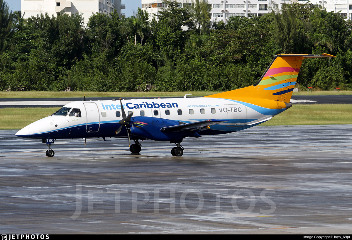 VQ-TBC - Embraer EMB-120ER Brasília - interCaribbean Airways