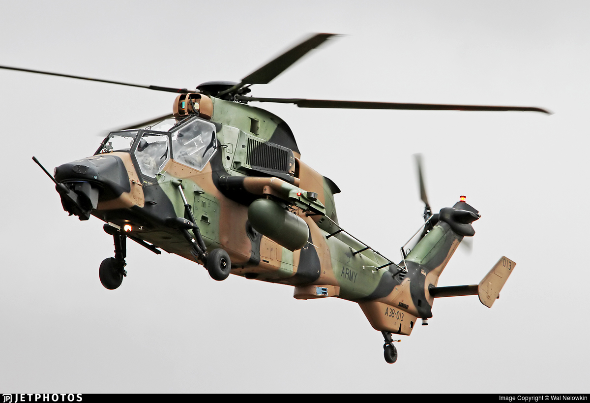 A38-013 - Eurocopter EC 665 Tiger - Australia - Army