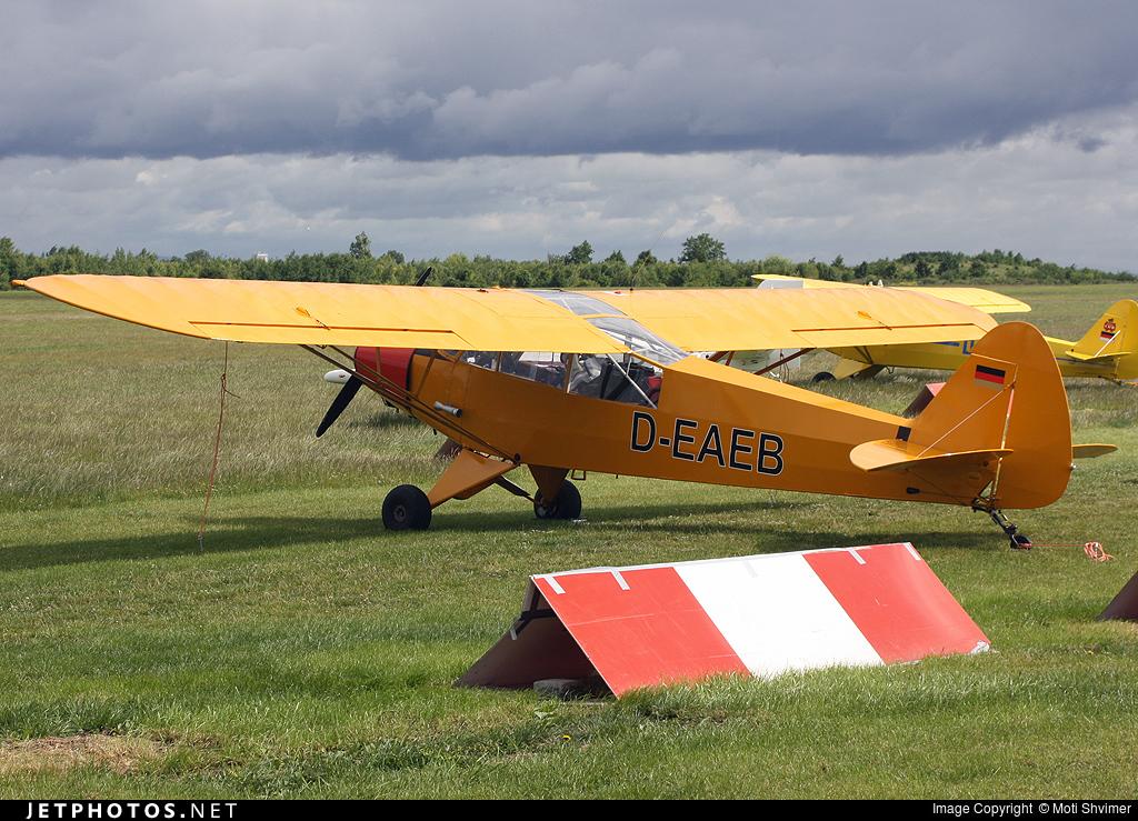 D-EAEB - Piper PA-18-95 Super Cub - Private