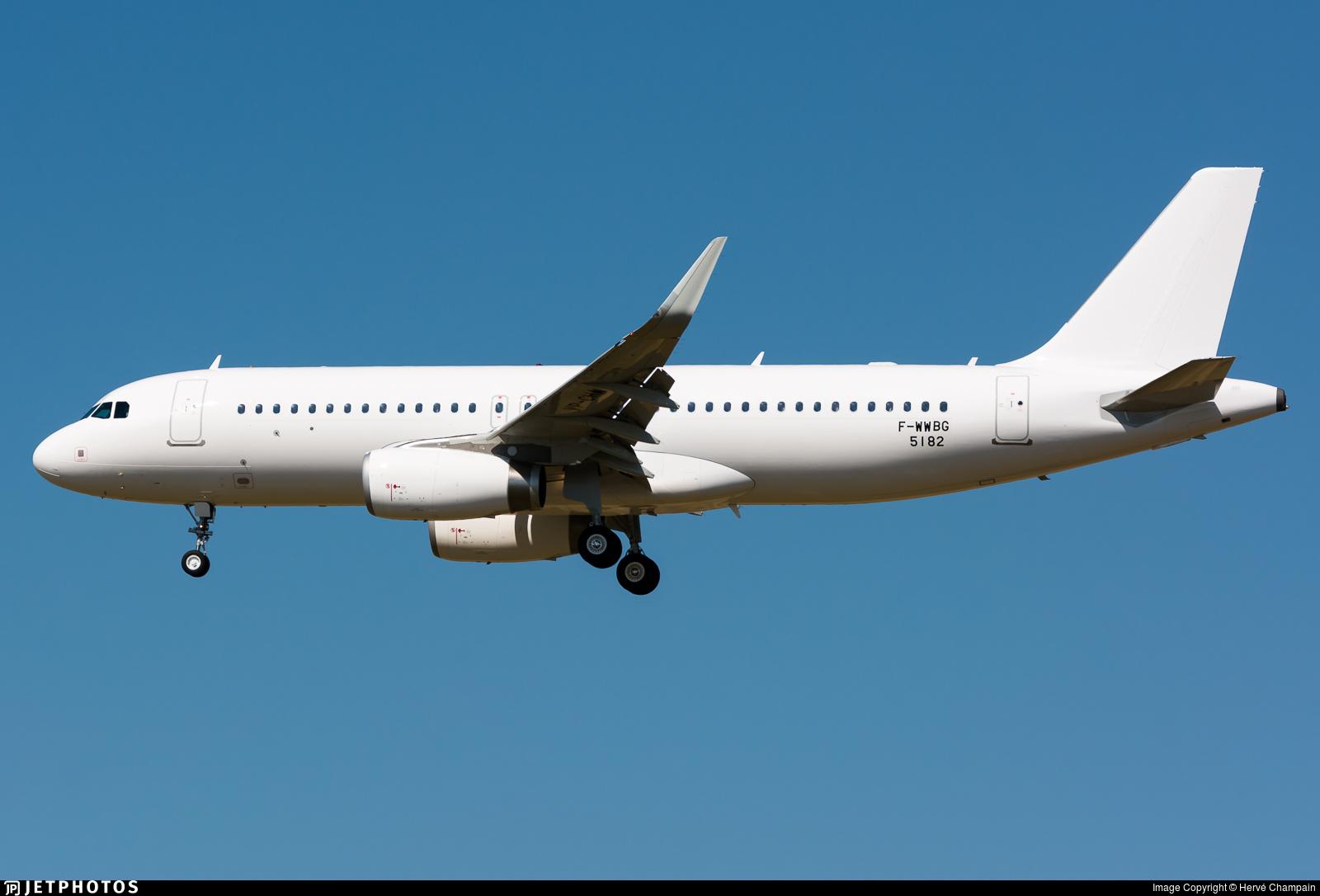 F-WWBG - Airbus A320-232 - Airbus Industrie