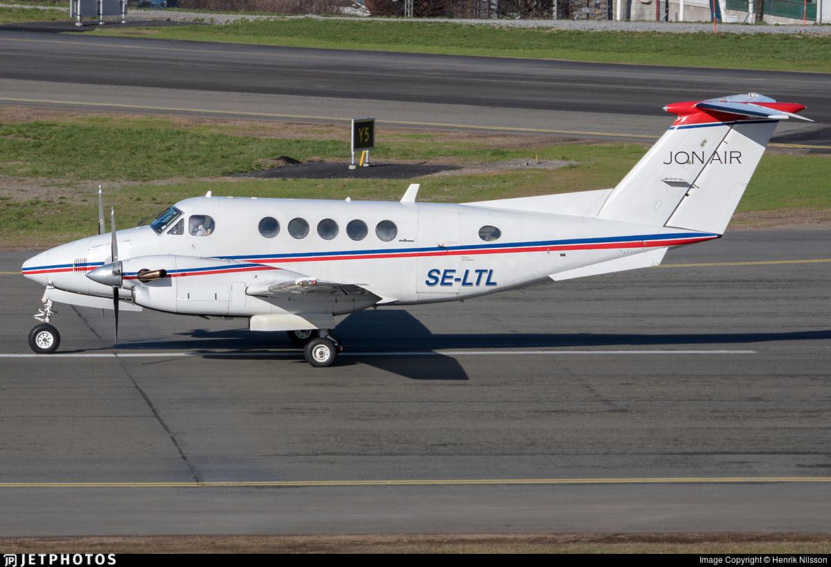 SE-LTL - Beechcraft 200 Super King Air - Jonair