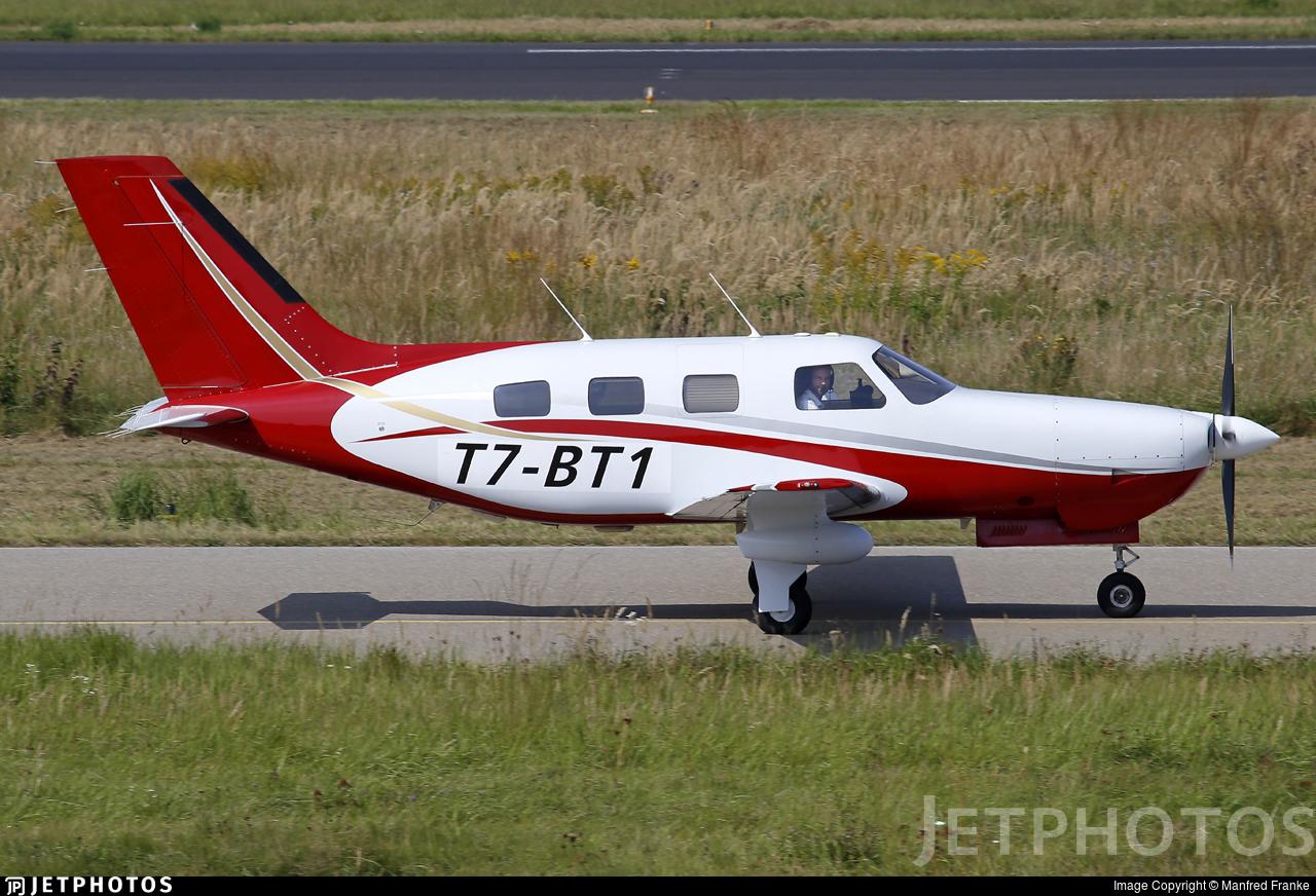 T7-BT1 - Piper PA-46-350P Malibu Mirage - Private