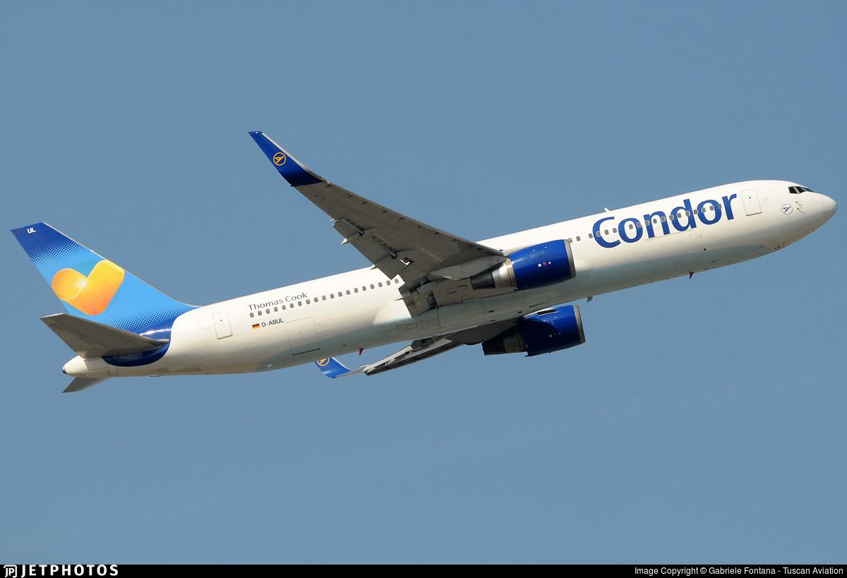 D-ABUL - Boeing 767-3Q8(ER) - Condor