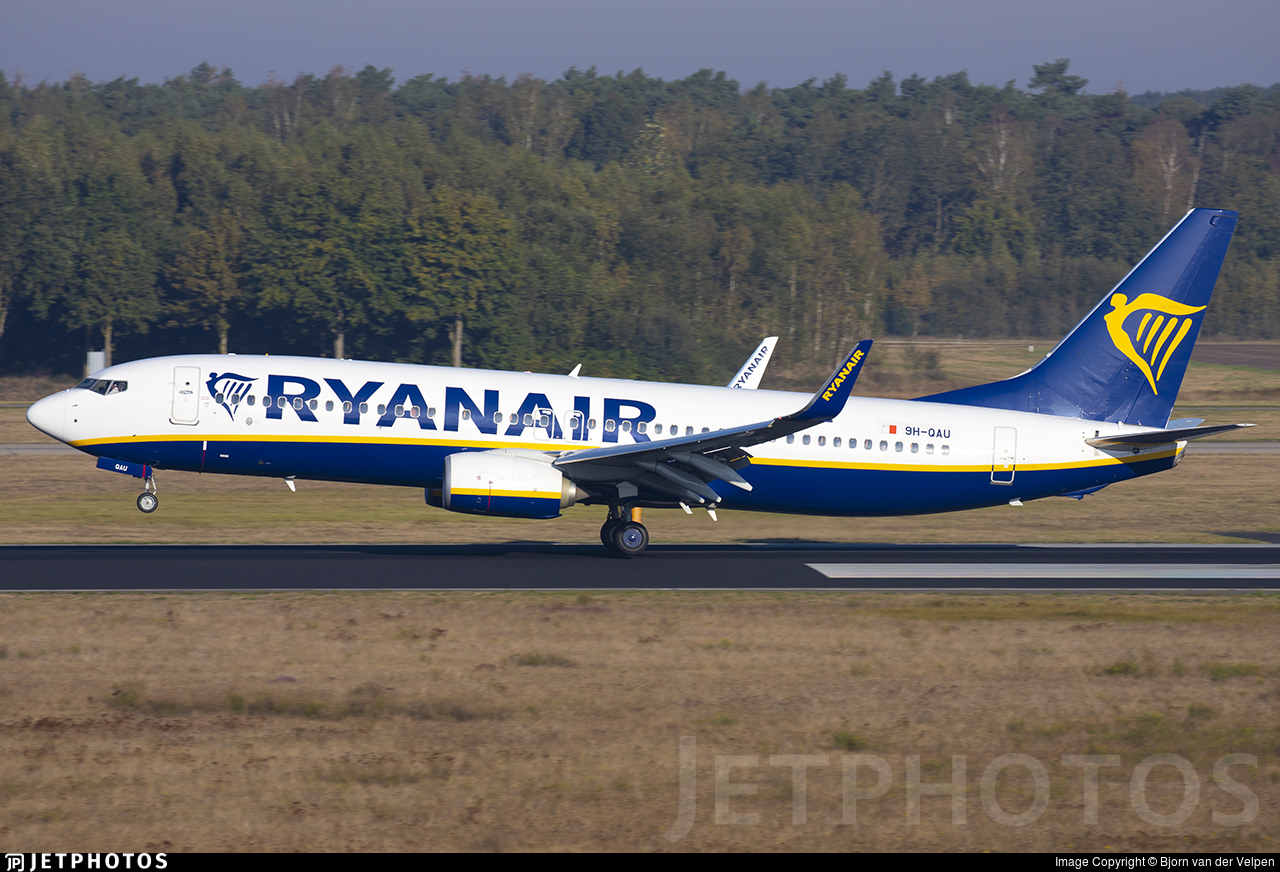 9H-QAU - Boeing 737-8AS - Ryanair (Malta Air)