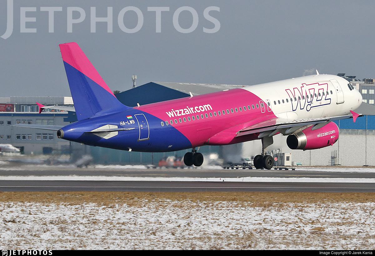 HA-LWB - Airbus A320-232 - Wizz Air