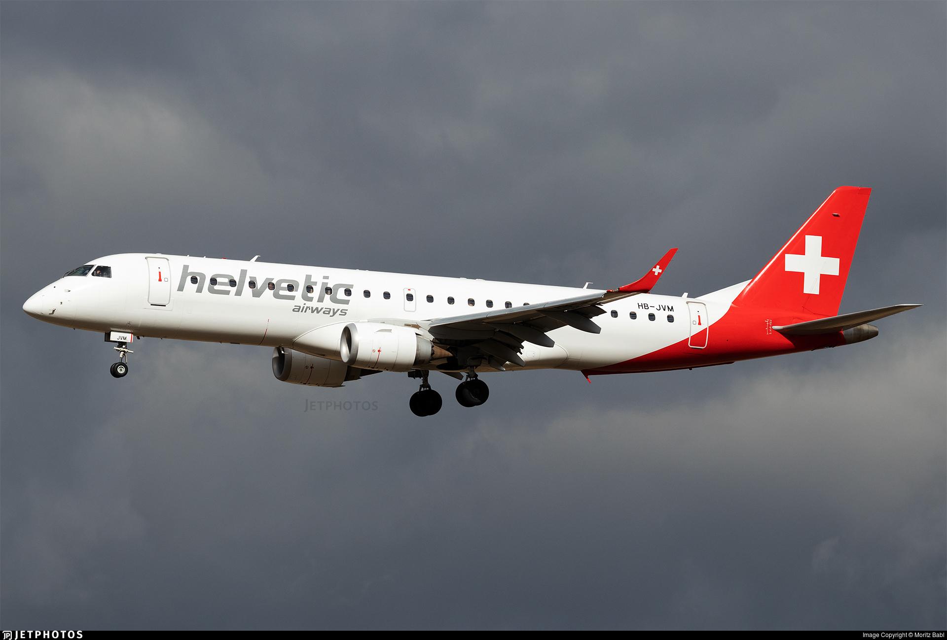 HB-JVM - Embraer 190-100LR - Helvetic Airways