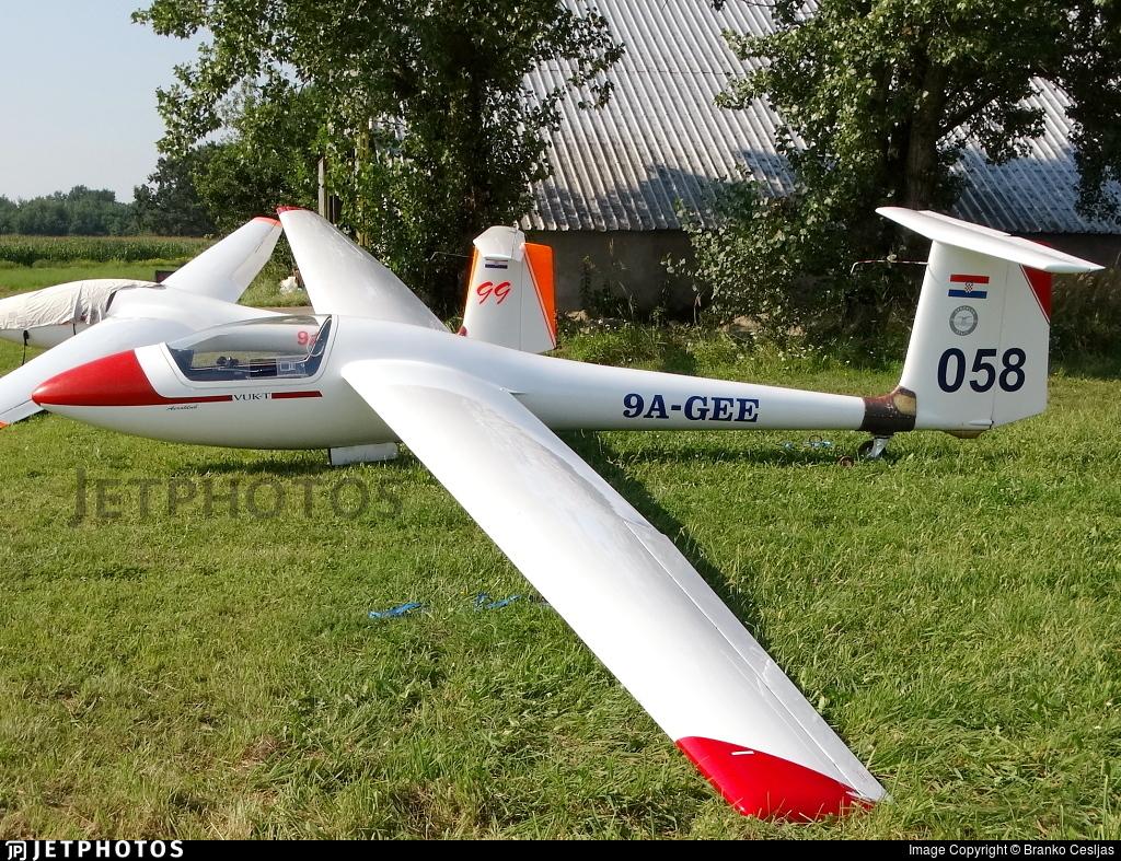 9A-GEE - FAJ Jastreb VUK-T - Private