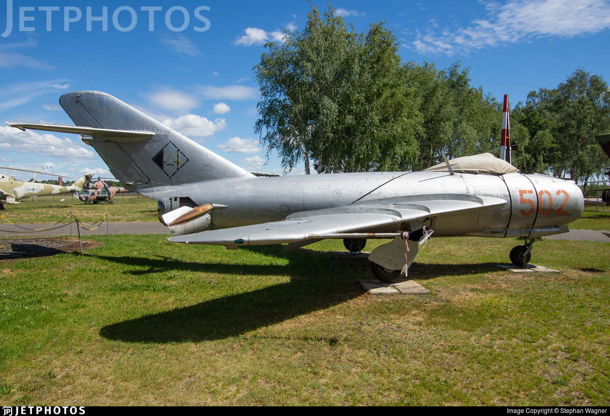 502 - Mikoyan-Gurevich Mig-17F Fresco - German Democratic Republic - Air Force