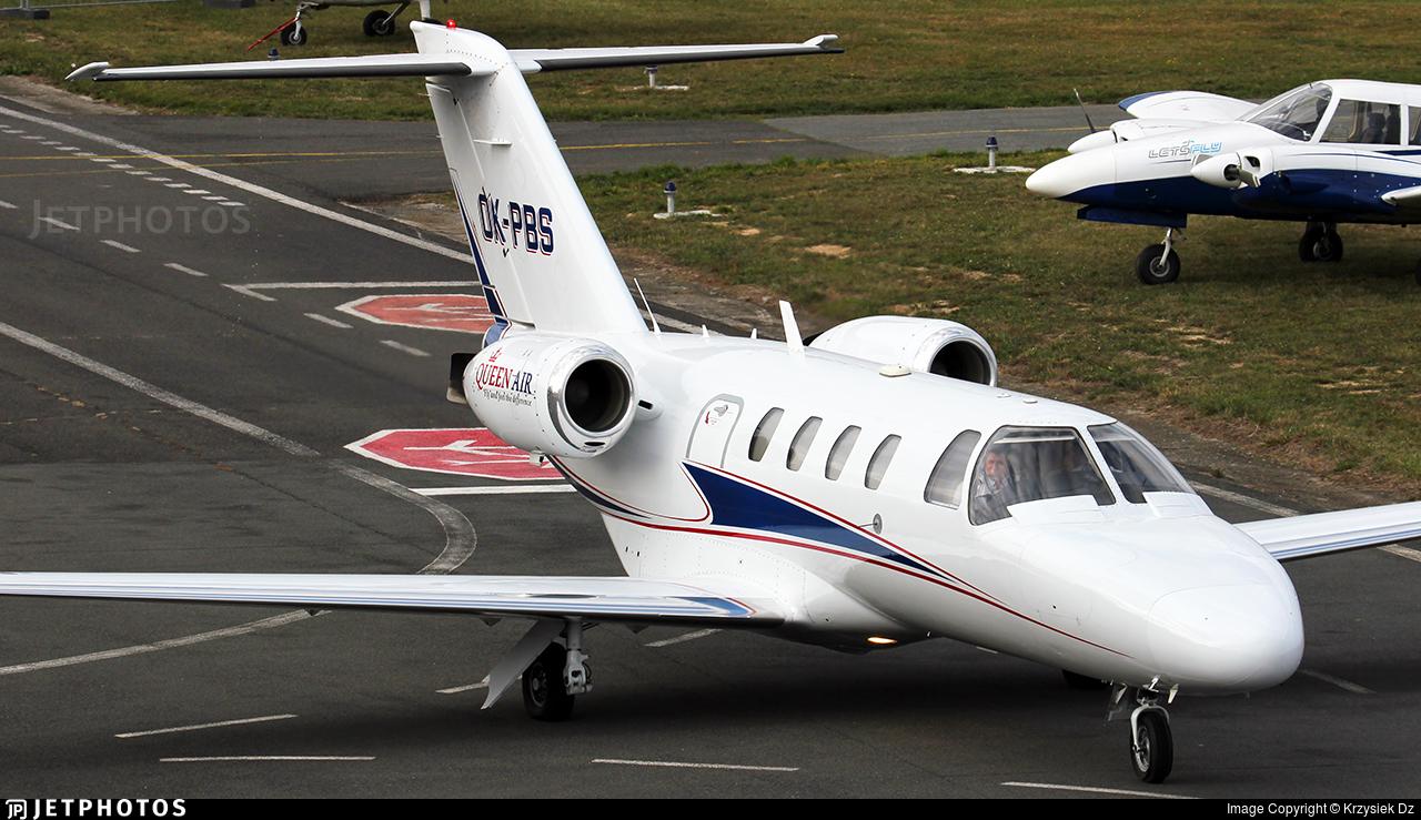 OK-PBS - Cessna 525 CitationJet 1 - Queen Air