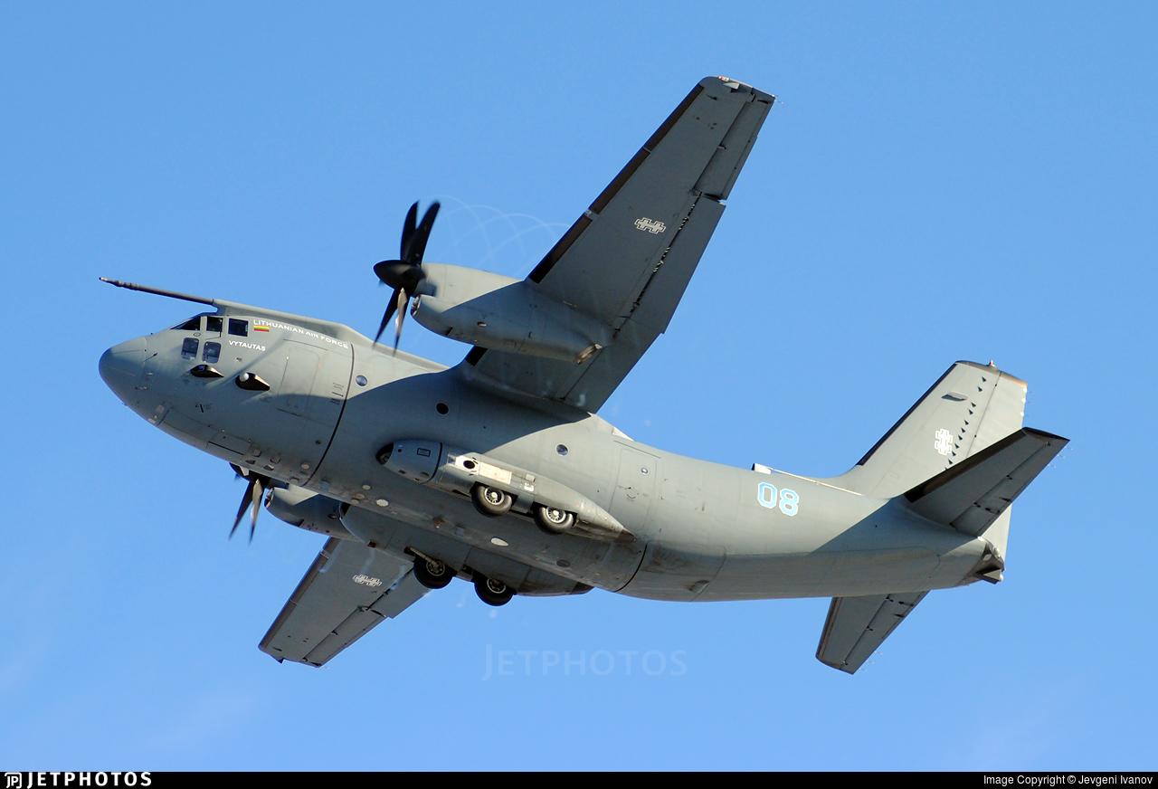 08 - Alenia C-27J Spartan - Lithuania - Air Force