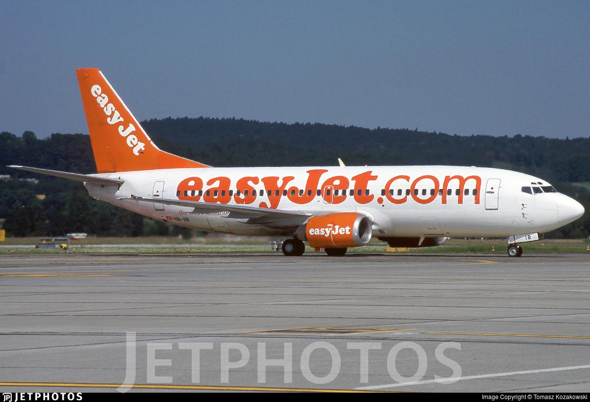 HB-IIB - Boeing 737-3M8 - easyJet Switzerland