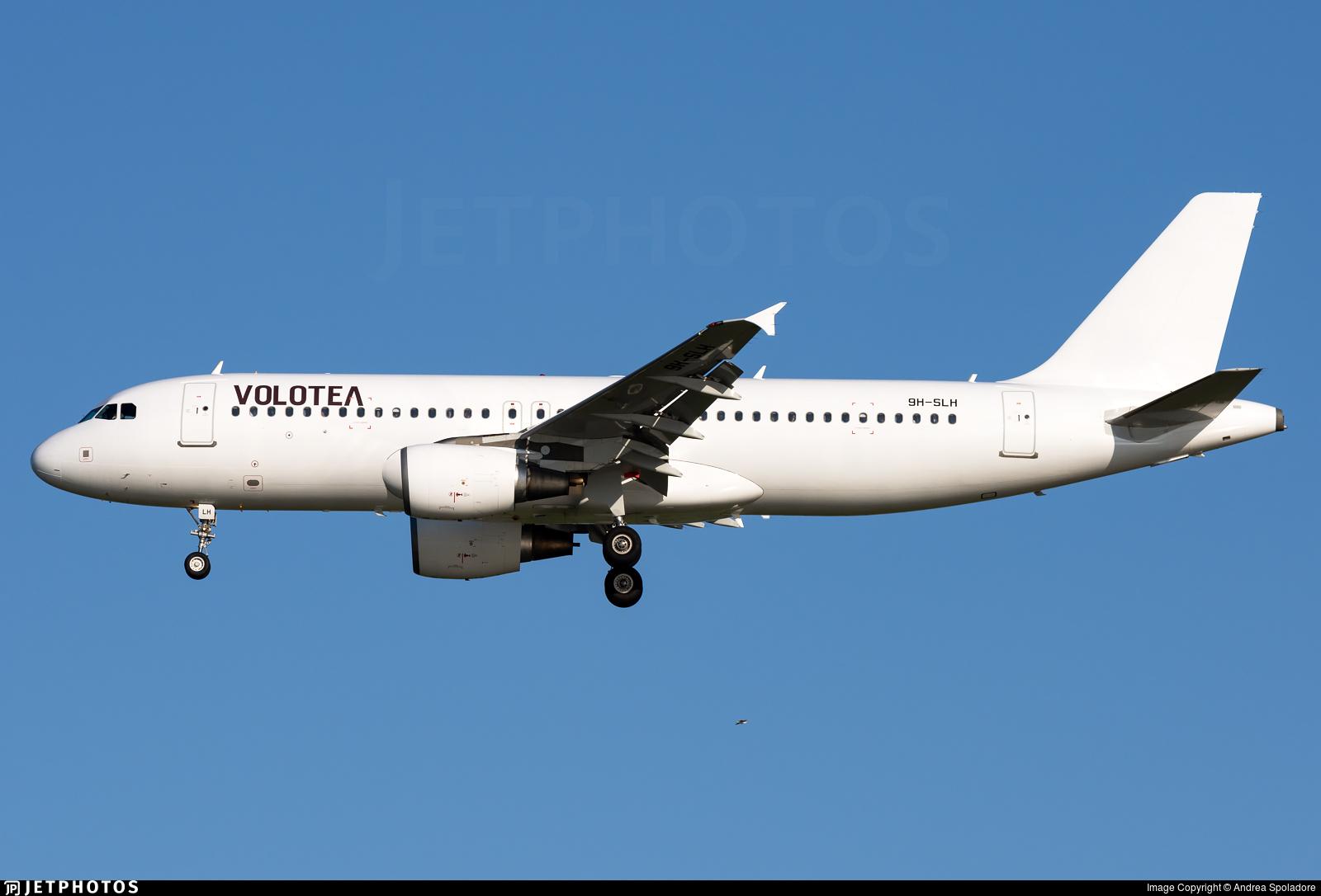 9H-SLH - Airbus A320-214 - Volotea (SmartLynx Malta)