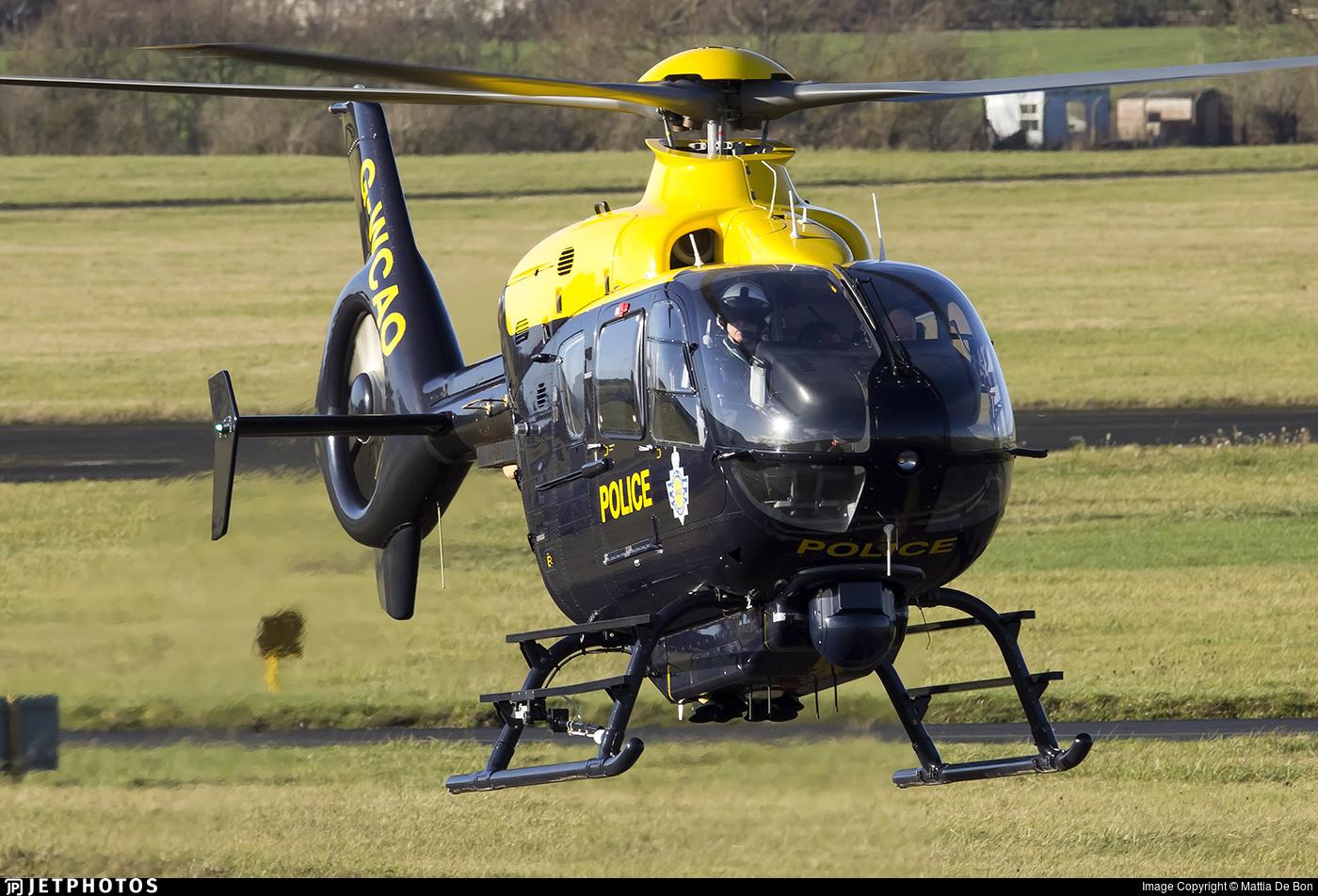 G-WCAO - Eurocopter EC 135T2 - United Kingdom - Police