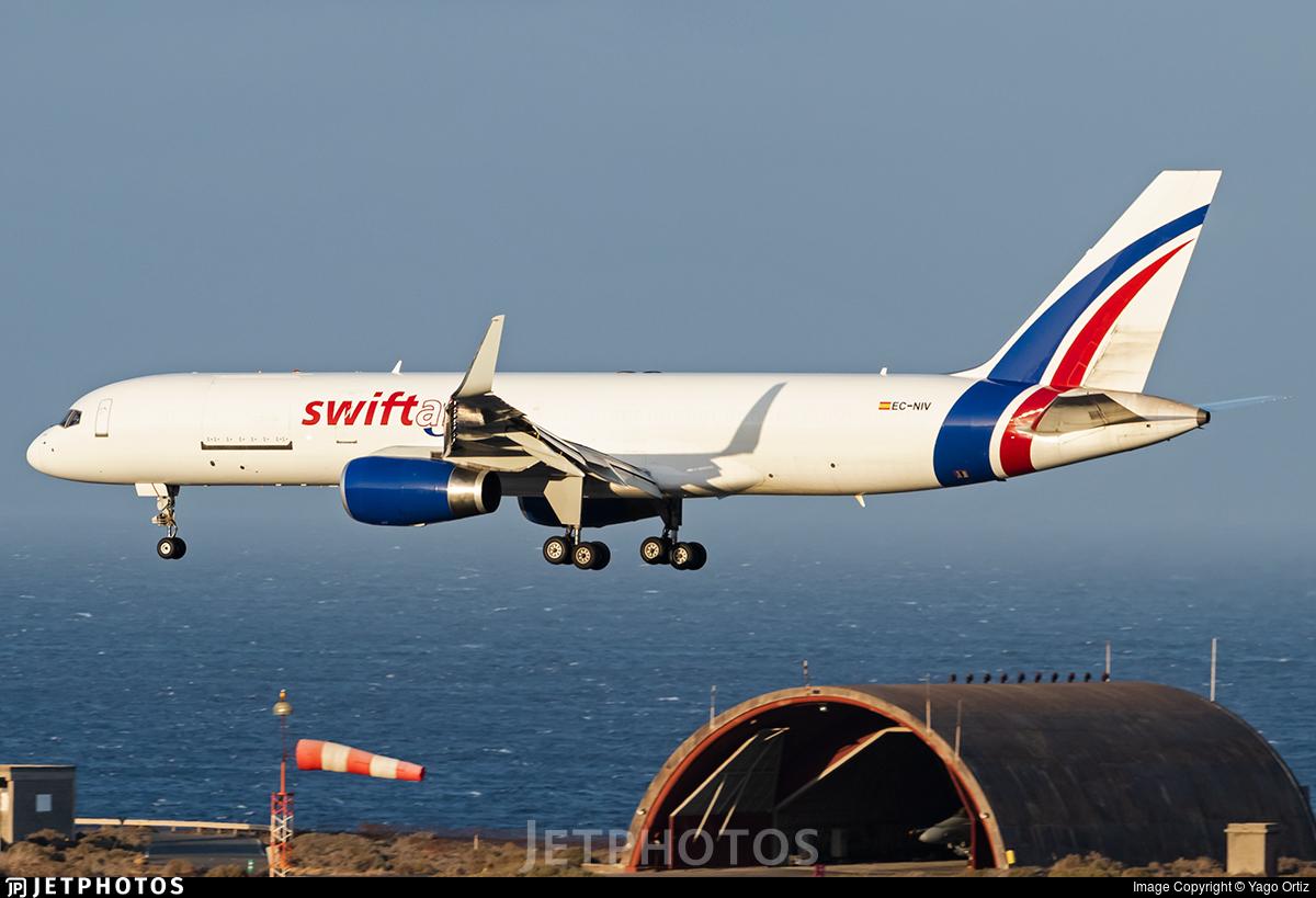 EC-NIV - Boeing 757-223(PCF) - Swiftair