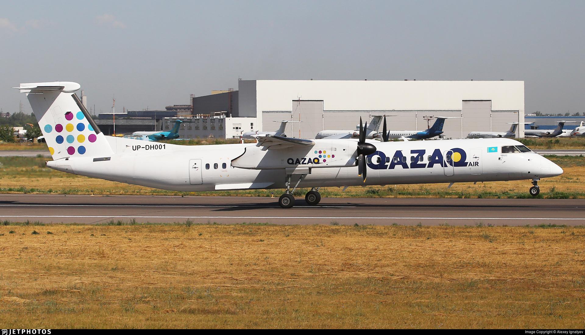UP-DH001 - Bombardier Dash 8-Q402 - Qazaq Air