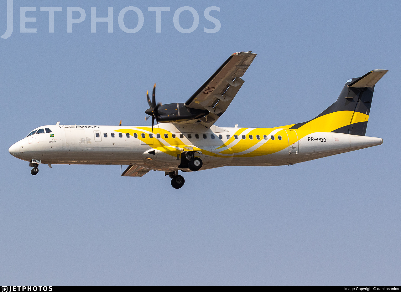 PR-PDO - ATR 72-212A(600) - VoePass Linhas Aéreas